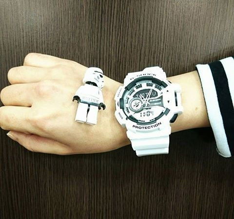 【G-SHOCK】Black-and-White GA-400-7AJF