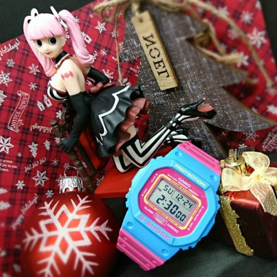 【G-SHOCK】May you have a warm,joyful christmas this year.