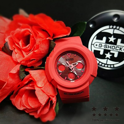 【G-SHOCK】35周年記念モデル RED OUT