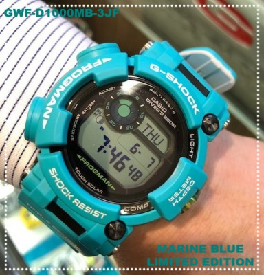 【G-SHOCK】Master in MARINE BLUE <FROGMAN>
