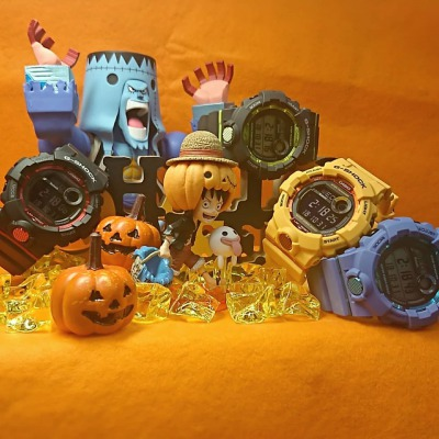 【G-SHOCK】G-SQUAD GBD-800 with Halloween