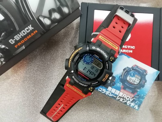 【G-SHOCK】南極調査rovとの究極コラボ